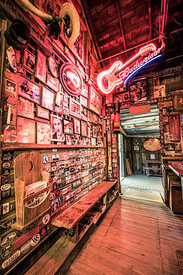 Photograph - Luckenbach Wall Of Fame by Andy Crawford