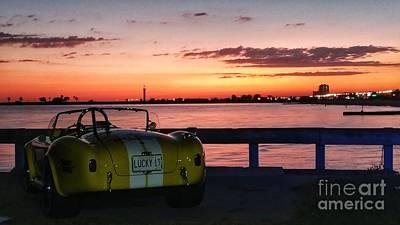 Photograph - Lucky 13 Beach Sunset by Susan Bordelon