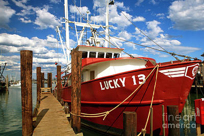 Photograph - Lucky 13 At Long Beach Island by John Rizzuto