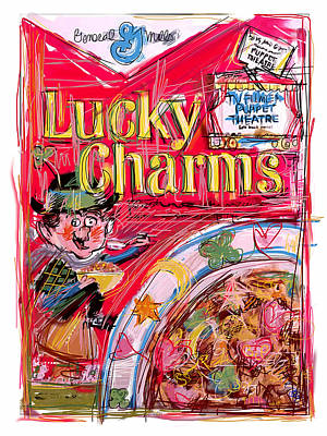 Mixed Media - Lucky Charms by Russell Pierce