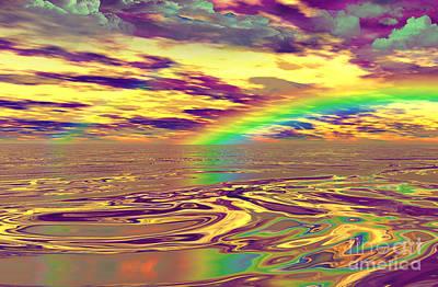 Digital Art - Lucky Day- by Robert Orinski