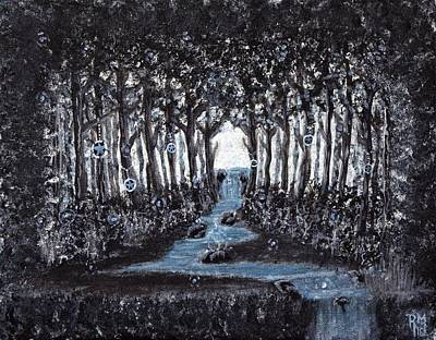 Painting - Lucky Forest by Art By Ryker