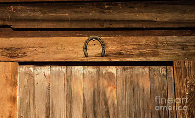 Photograph - Lucky Horseshoe by Kevin McCarthy