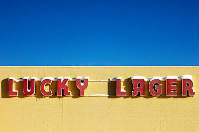 Photograph - Lucky Lager by Todd Klassy