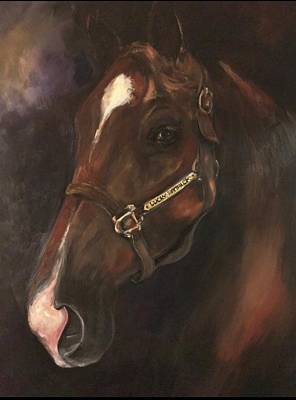 Painting - Lucky Patric by Heather Roddy