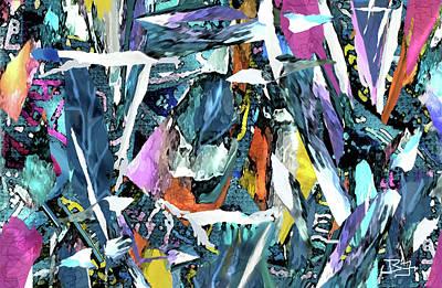 Digital Art - Lucky Sevens by Jean Batzell Fitzgerald
