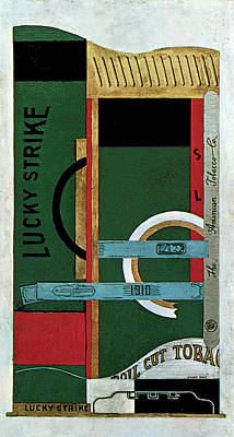 Painting - Lucky Strike by Stuart Davis