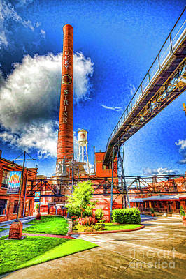 Photograph - Lucky Strike Tower by Scott Faber