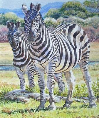 Painting - Lucky Stripes by Denise Horne-Kaplan
