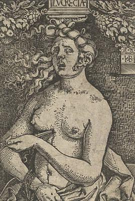 Relief - Lucretia by Hans Baldung Grien