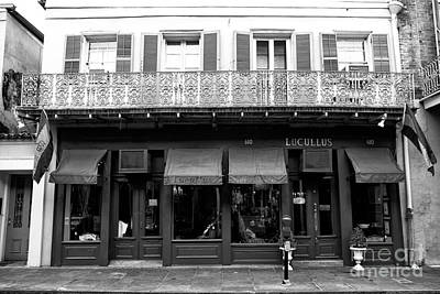 Photograph - Lucullus New Orleans by John Rizzuto