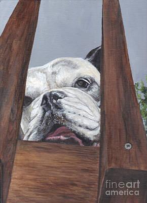 Painting - Lucee by Carol Wisniewski