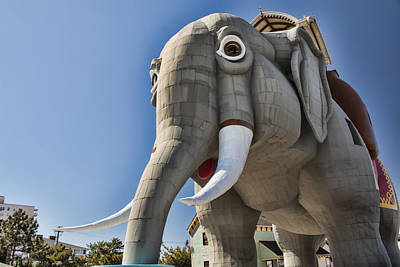 Photograph - Lucy Elephant In Margate by Kristia Adams