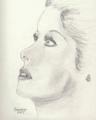 Drawing - Lucy by John Bennett