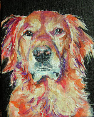 Painting - Lucy by Judy Rogan