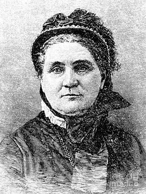 Lucy Larcom (1824-1893) Art Print by Granger