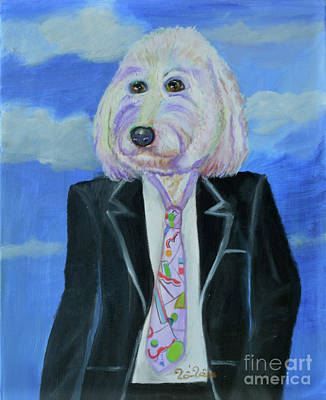 Lucy The Business Dog Original by To-Tam Gerwe