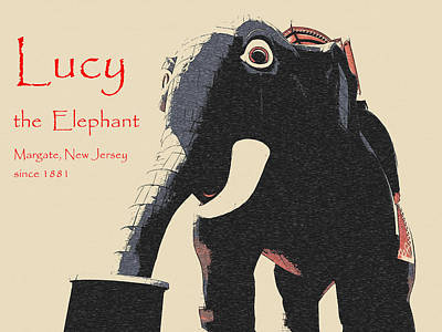 Photograph - Lucy The Elephant Since 1881 by Richard Reeve