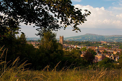 Photograph - Ludlow Village From The Meadow by Jenny Setchell