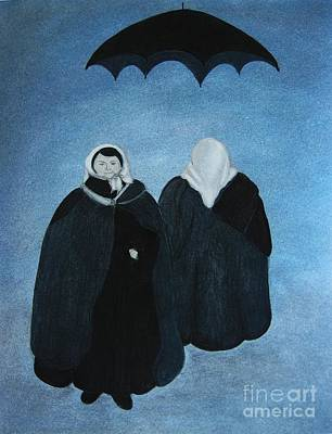 Negis Painting - Ludmilla And Rosemasha by Rosemarie Glennon Kliegman