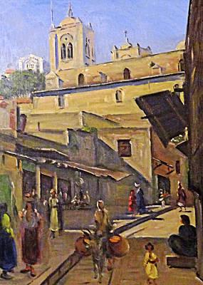 Painting - Ludwig Blum Nazareth by Munir Alawi