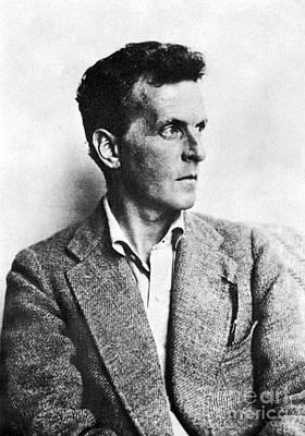 Photograph - Ludwig Wittgenstein by Granger