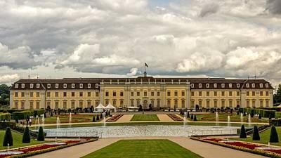 University Digital Art - Ludwigsburg Palace by Super Lovely