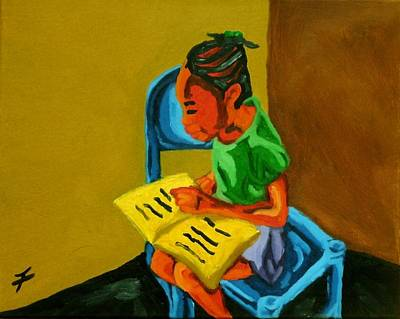 Fleurant Painting - Ludya by Jason JaFleu Fleurant