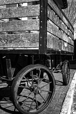 Photograph - Luggage Cart by George Taylor
