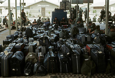 Photograph - Luggage Locked And Loaded by Robert Holden