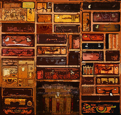 Photograph - Luggage by Susan Vineyard