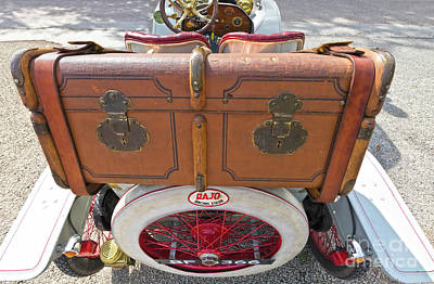 Photograph - Luggage by Terri Waters