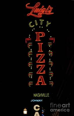 Photograph - Luigi City Pizza by David Bearden