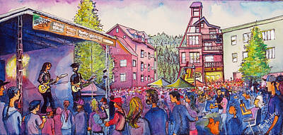 Lukas Nelson And Promise Of The Real Art Print by David Sockrider
