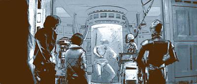 Digital Art - Luke In Bacta by Kurt Ramschissel