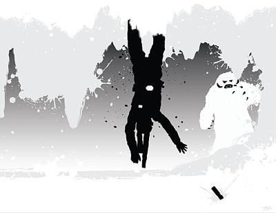 Alliance Digital Art - Luke In The Wampa Cave by Nathan Shegrud