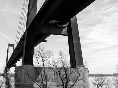 Photograph - Luling Bridge - Cable Stayed - La by Kathleen K Parker