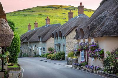 Photograph - Lulworth Cottages by Brian Jannsen