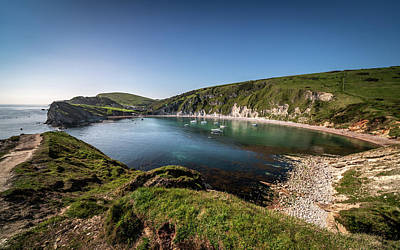 Photograph - Lulworth Cove Panorama by Framing Places