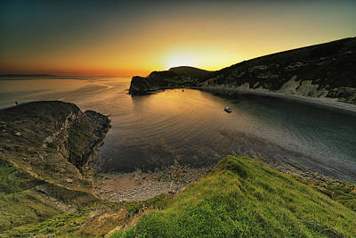 Photograph - Lulworth Sunset by Framing Places