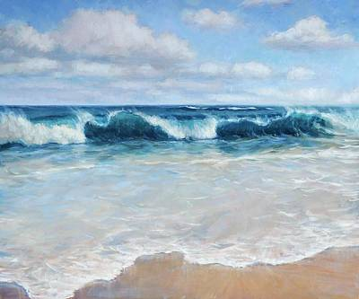 Painting - Lumahai Surf by Jenifer Prince