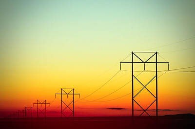 Lumiere Electrique Art Print