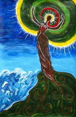 Lumen Painting - Lumina by Jeanie Anthony