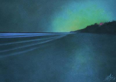 Luminescence At Torrey Pines II Art Print by Robin Street-Morris