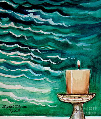 Painting - Luminescence by Elizabeth Robinette Tyndall