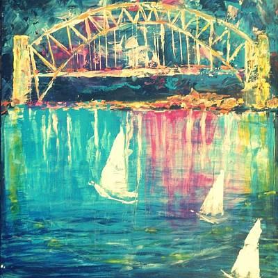 Wall Art - Mixed Media - Luminocity by Linda Bartlett