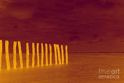 Luminous Beach Art Print by  Fotoping