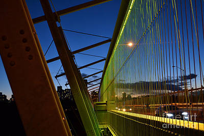 Photograph - Luminous Green Bridge by Alana Boltwood