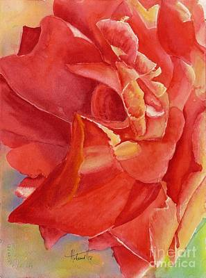 Fineartamerica.com Painting - Luminous Rose by Mohamed Hirji