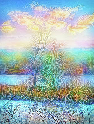 Digital Art - Luminous Sunrise by Joel Bruce Wallach